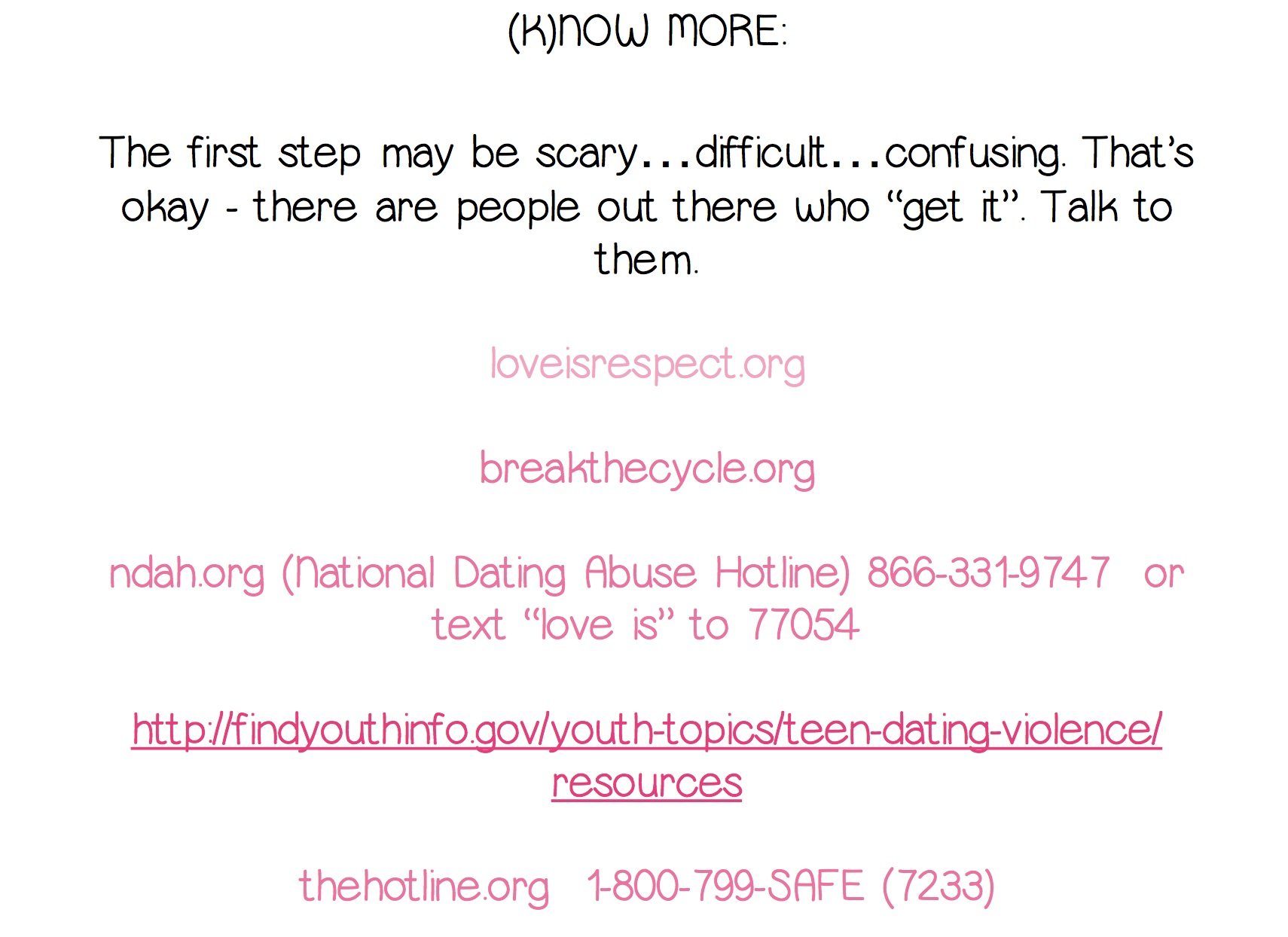dating violence powerpoint